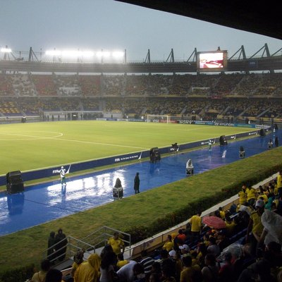 Estadio Metropolitano Roberto Melendez of Barranquilla in the opening World Cup FIFA U-20 Colombia 2011