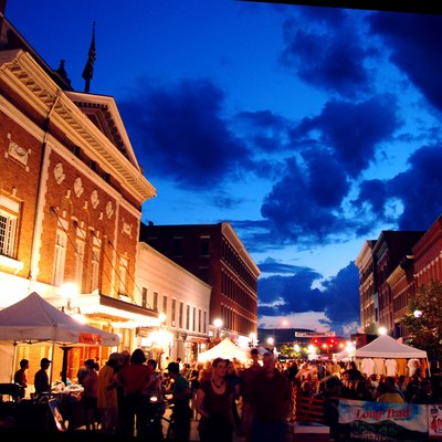 Downtown Rutland Vermont Ethnic Festival