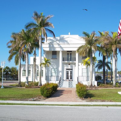 Everglades City, Florida: Former County Courthouse, Now City Hall.