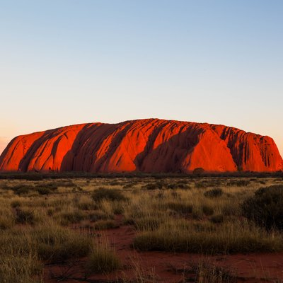 My first visit to Uluru. Seeing the colours change at sunset was a bucket list moment.