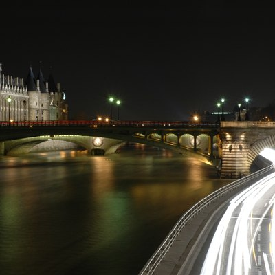 The Seine near the Conciergerie