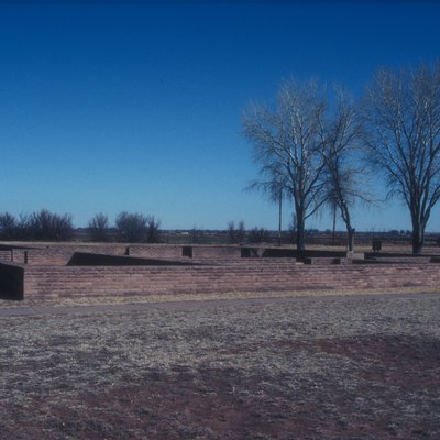 Fort Established In 1860's To Guard The Bosque Redondo Indian Reservation. Abandoned In 1868 And Sold To Lucien Bonaparte Maxwell. In The Former Officer'S Quarters, Billy The Kid Was Shot By Pat Garrett
