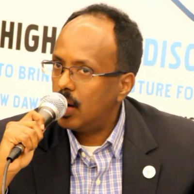 Somali diplomat, professor and politician Mohamed Abdullahi Mohamed