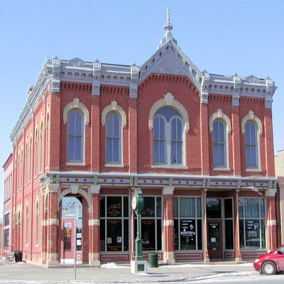 The Exchange Bank Building in downtown Farmington