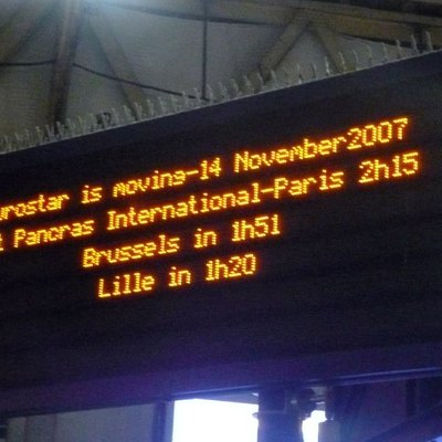 Eurostar: Faster from St Pancras (unless you are coming from the South West when you now have to take more trains) to Paris.