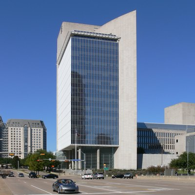 Federal Reserve Bank of Dallas, Pearl Street (Uptown), Dallas, Texas