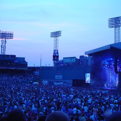 Dave Matthews Band Concert At Fenway Park