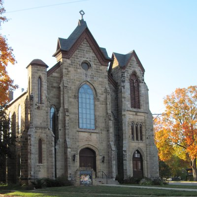 First Methodist Church in Mineral Point Historic District.