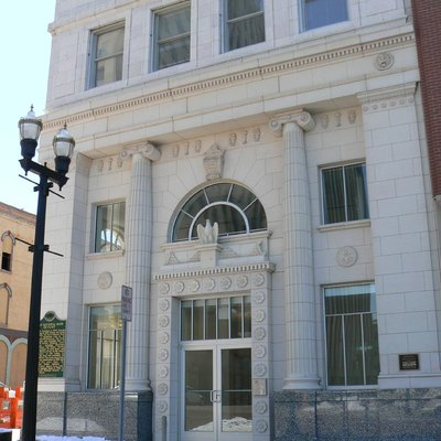 The recently renovated historic First National Bank building in Flint, Michigan, United States, is listed on the US National Register of Historic Places (NRHP).