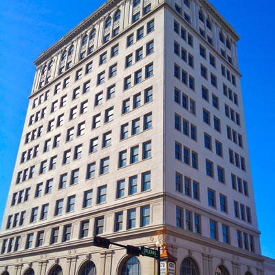 The Orleans Building in Beaumont, Texas. Built: 1925