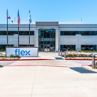 Flex International Administrative Building on the Flex campus at 847 Gibralter Dr., Milpitas CA 95035 US