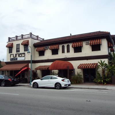 The Hollywood Printing and Publishing Plant building was built in 1924 and is located 21st. Ave. in Hollywood, Florida. The building, which is now used as a restaurant, served as the 1st. City Hall of Hollywood.