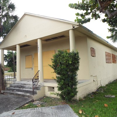 The Hollywood Garden Club building was built in 1950 and is located at 2940 Hollywood Boulevard in Hollywood, Florida. The building, which is in a total state of abandonment, was listed in the National Register of Historic Places on February 15, 2005; reference #05000052.