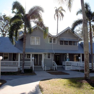 Photograph of the Ford winter home in Fort Myers, Florida, USA taken by Rolf Müller on January 26 2006 using a Canon Inc. EOS 350D digital camera with an EFS 18-55mm lens
