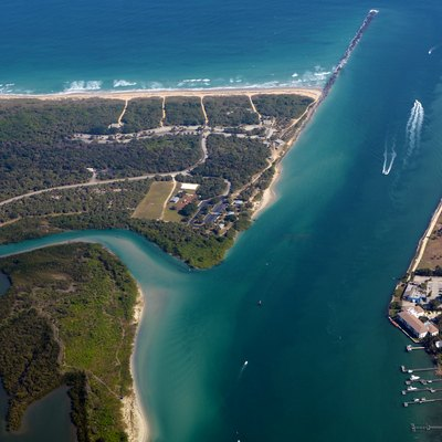 Fort Pierce Inlet Fort Pierce Florida photo D Ramey Logan