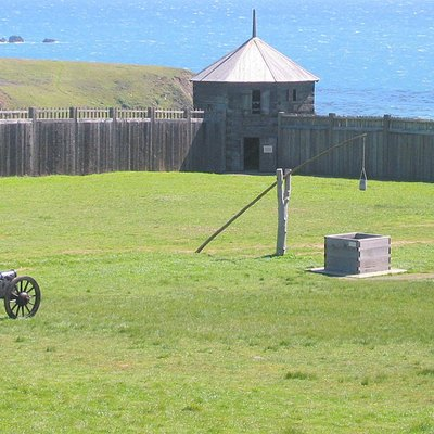 Place: Fort Ross@North Coast@California@USA