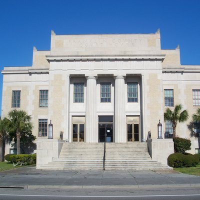 Apalachicola, Florida: Franklin County Courthouse.