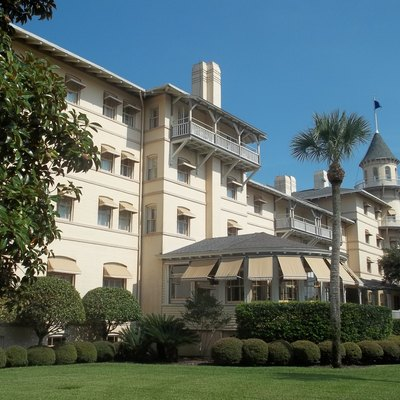 Jekyll Island: Old Clubhouse, Now A Hotel