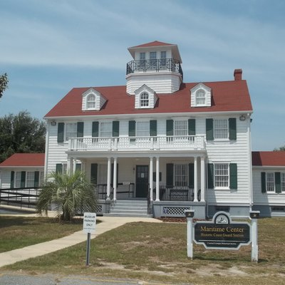 St. Simons, Georgia: Us Coast Guard Station: