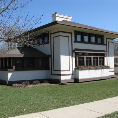 G. C. Stockman House (1908); Mason City, Iowa