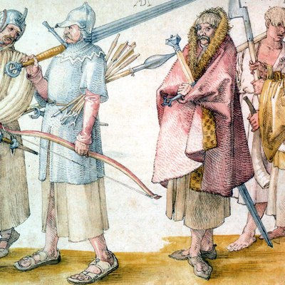 Irish soldiers, 1521 – by Albrecht Dürer