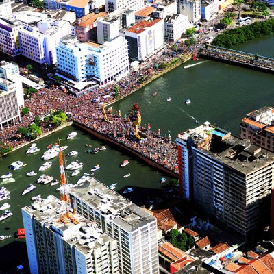 Recife Carnival, in the capital city of the State of Pernambuco, Recife.