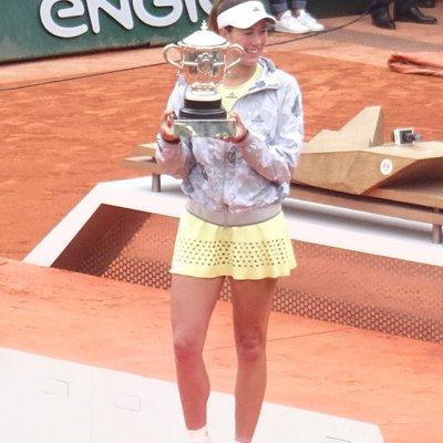 Garbiñe Muguruza won her first grand slam title at Roland Garros 2016