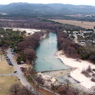 The Frio River viewed from