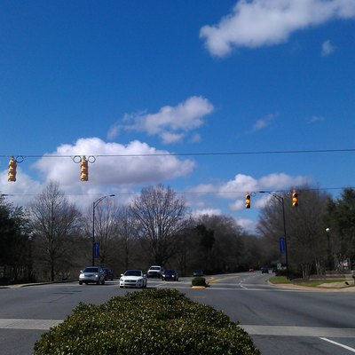 Gateway Intersection in Rock Hill, South Carolina