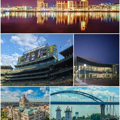 Green Bay photo montage