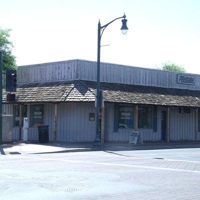 The Bank of Gilbert, located in Gilbert, Arizona, was built in 1917. It now house's an Insurance company. The structure is listed as historical by the Gilbert Heritage District