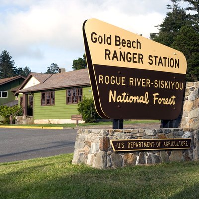 Gold Beach Ranger Station: Rogue River - Siskiyou National Forest. The Gold Beach Ranger Station was listed on the National Register of Historic Places in 1986.