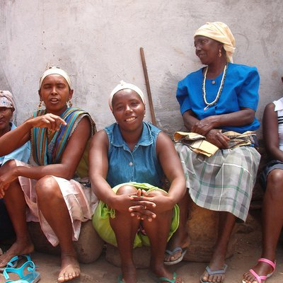 Local women in Santiago island, Cape Verde