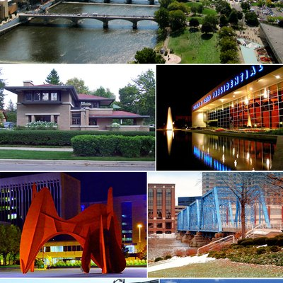 Montage of Grand Rapids images on Commons