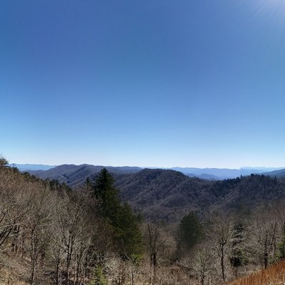 Panorama Picture of the Great Smoky Mountains National Park
