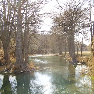 The Guadalupe River near Hunt, Texas