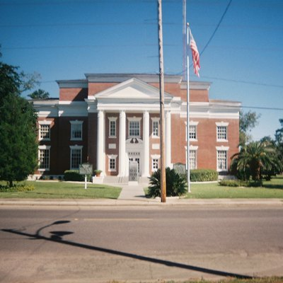 Old Gulf County Courthouse in Wewahitchka, Florida