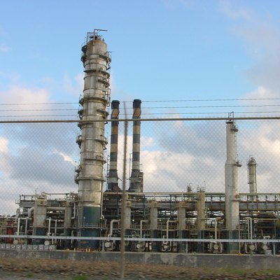 HOVENSA petroleum refinery, St. Croix, U.S. Virgin Islands