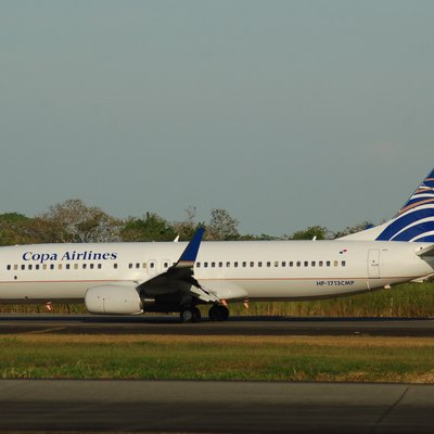 Boeing 737/8 of Copa Airlines at Panama City-Tocumen,Panama 07/03/11.
