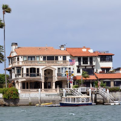 Harbor front Home Newport Beach California