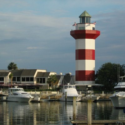 Harbor of Hilton Head Island, South Carolina, United States.