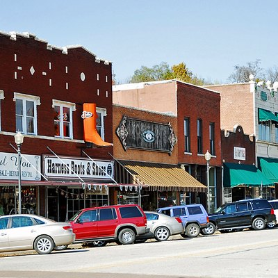 Harrison's historic central business district