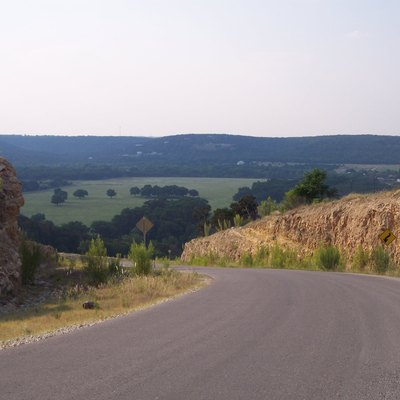 Texas Hill Country In Hays County, Texas