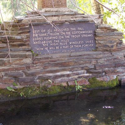 Hemingway memorial, Sun Valley, Idaho, 2009