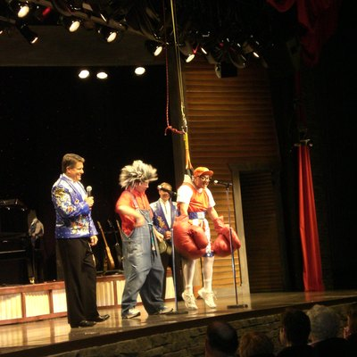 Branson famous, Herkimer and Cecil are performing at the Presley Country Jublee