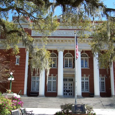Hernando County Courthouse, in Brooksville, Florida