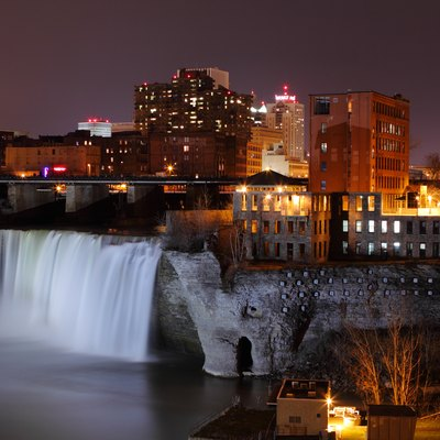 High Falls in Downtown Rochester, New York