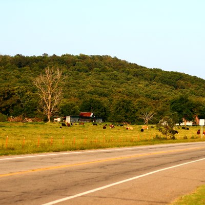 Hwy64 Out Of Altus, Arkansas.