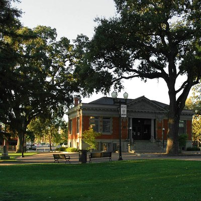 The historic Carnegie Library now houses the Paso Robles Historical Society museum