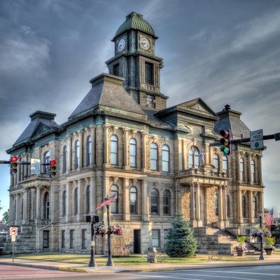 Holmes County Ohio, Court House